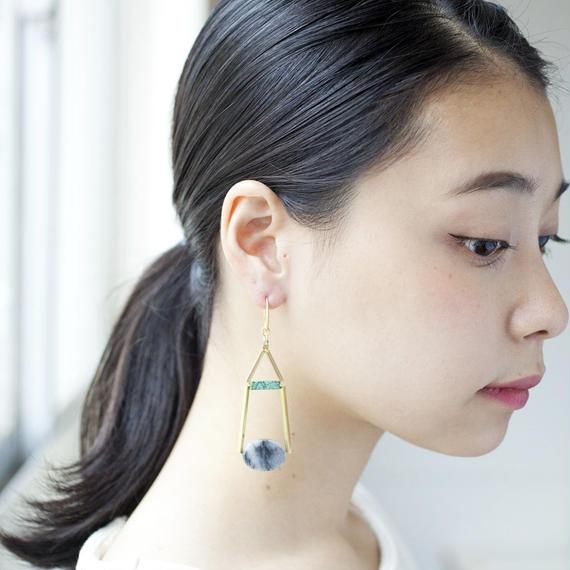 【David Aubrey】Stone Earrings