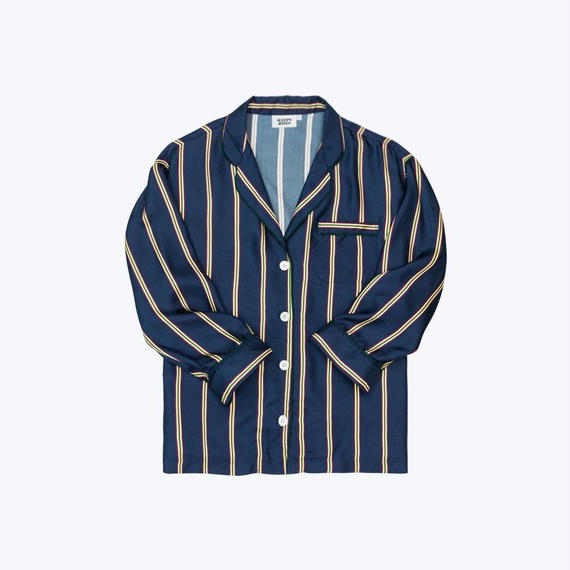 SLEEPY JONES // Silk Marina Pajama Shirt