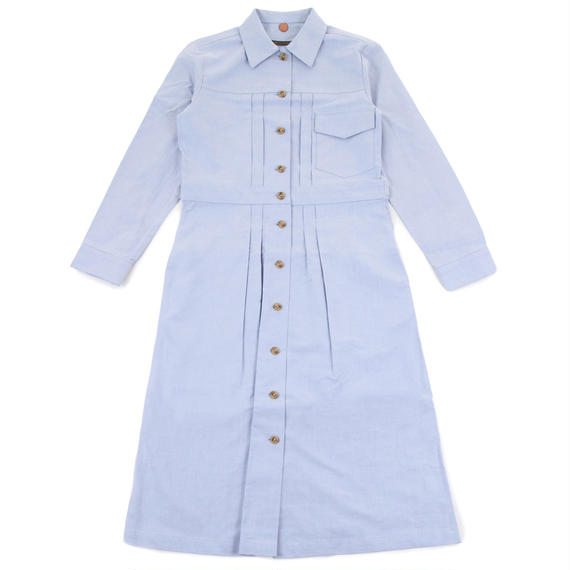 The denim jacket as dress in cotton