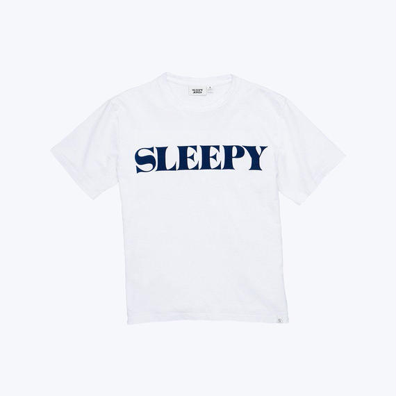 SLEEPY JONES // LOGO T-Shirts White