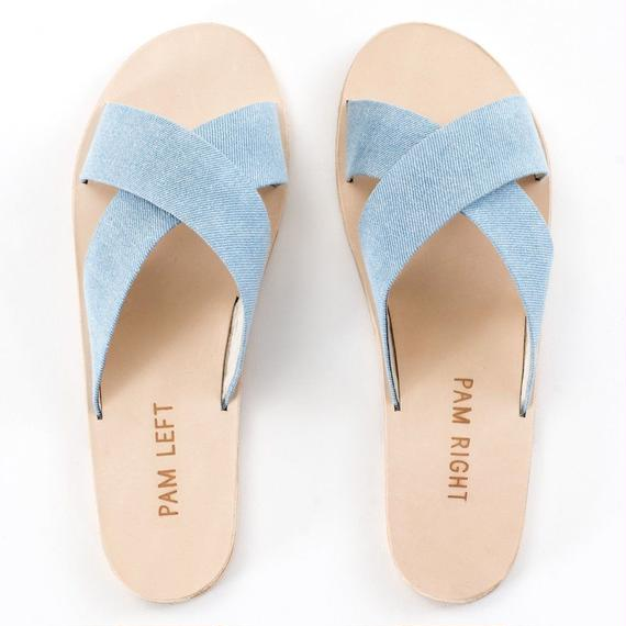 PAM LEFT PAM RIGHT // WREN SKY BLUE