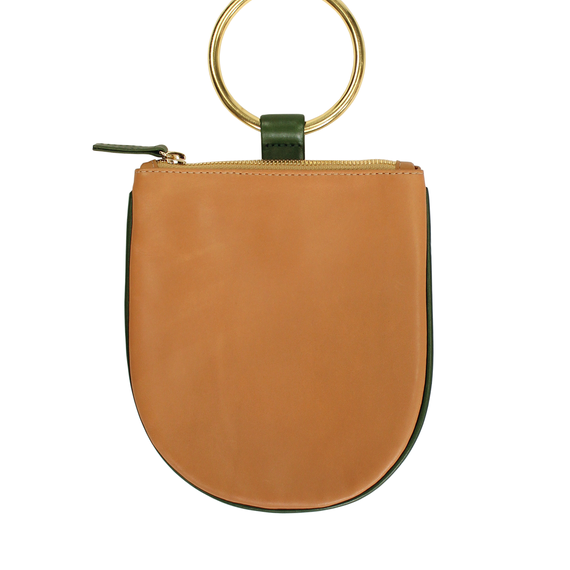 Myers Collective // Ring Pouch Medium Camel Body