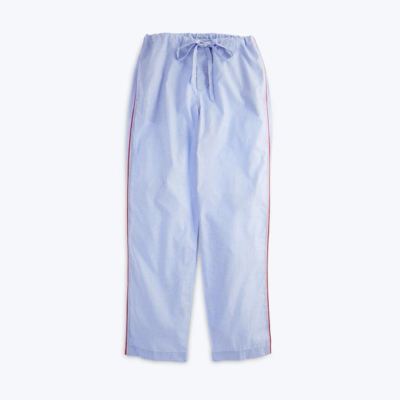 SLEEPY JONES // Marina Pajama Pant End on End Blue