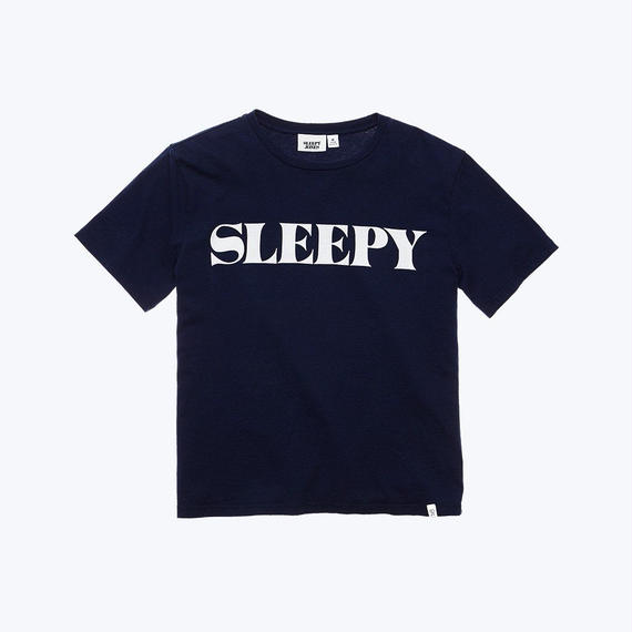 SLEEPY JONES // LOGO T-Shirts Navy