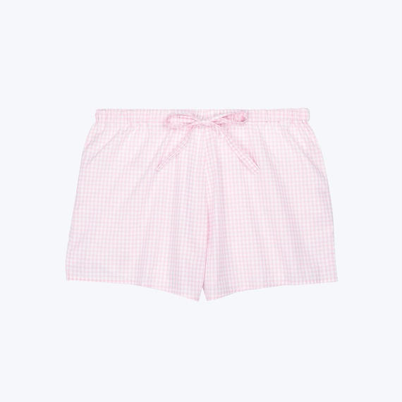 SLEEPY JONES // Paloma Short Small Gingham Pink