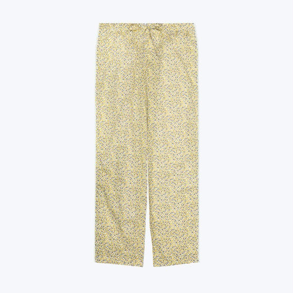 SLEEPY JONES // Marina Pajama Pant Liberty Lemon Print Yellow