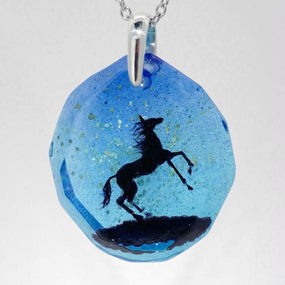 黒馬(horse017)