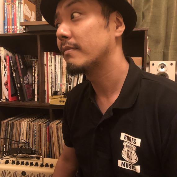 マサ・タケダ ポロシャツ 『ルーツミュージック』