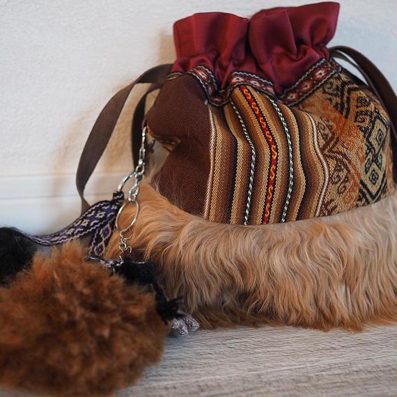 alpaca_bag_camel〜light brown