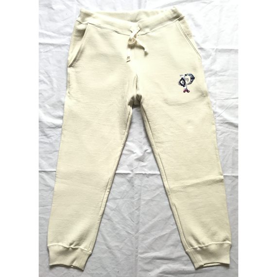 """PENDLETON×MB7r SWEAT PANTS  OFF WHITE """"OVER ALL BEIGE"""""""