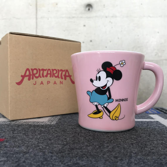 "【MADE BY SEVEN -REUSE-  Archives 2014年】 ARITARITA SMOOTH MUG ""1930s Minnie"""