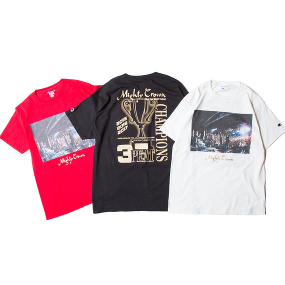 Mighty Crown - 3peat Champion Tシャツ