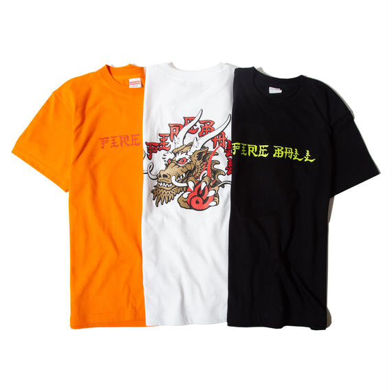 FIRE BALL - FIRE DRAGON Tシャツ