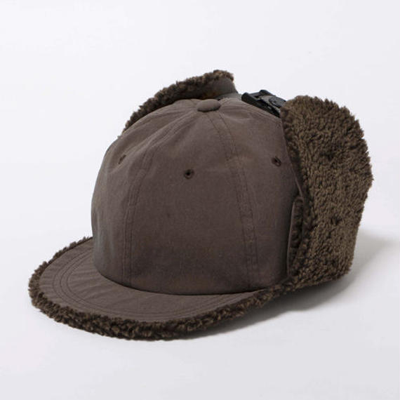 Konbu Nylon Flight Cap/RUST BROWN