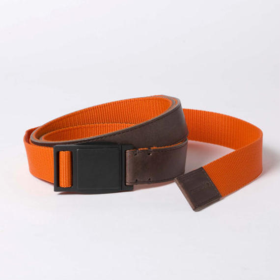 Leather and Nylon Quick Release Belt/WOODxEMG