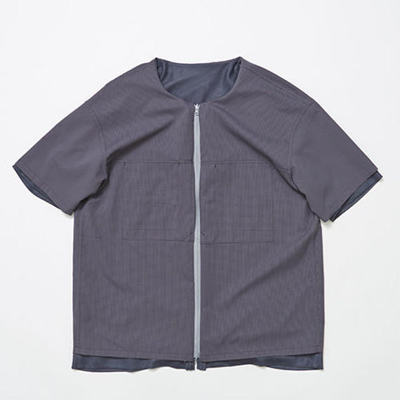 Water-repellent/Mesh Reversible 4Way S.S SH/CHARCOAL