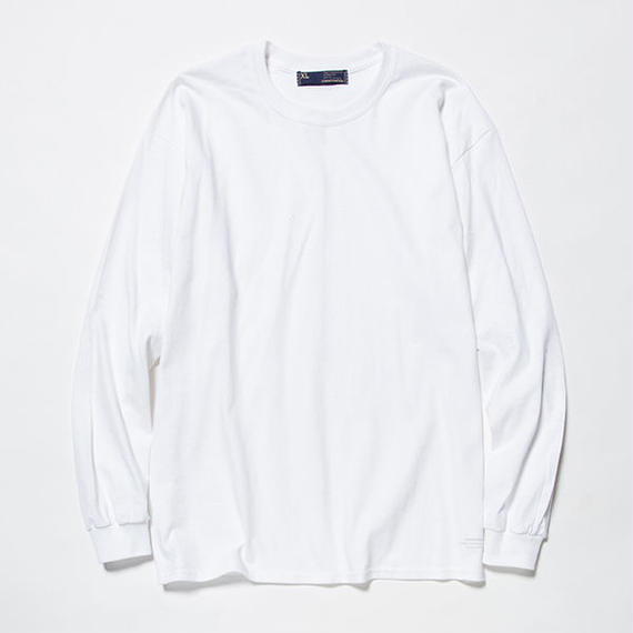 Anti-Stain 2 Pack L/S Tee/WHITE