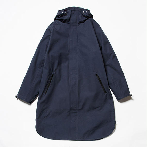 3 Layer Ventile Poncho Coat/NAVY [MW-JKT18204]