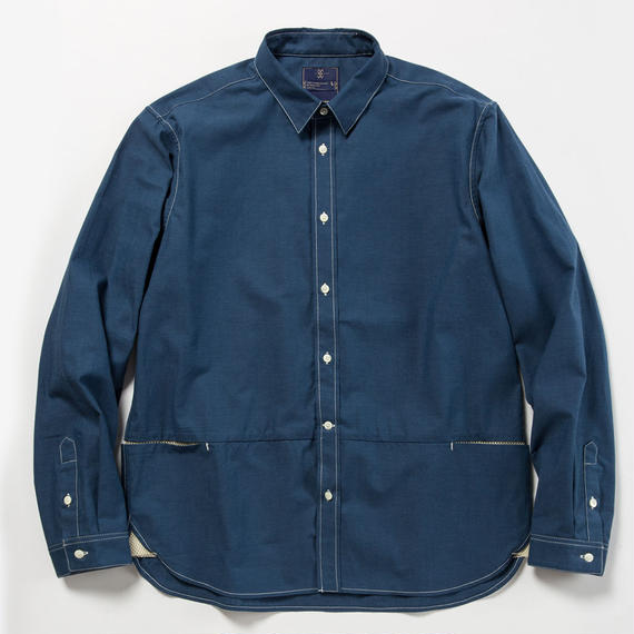 Packable Chambray Fishing SH/INDIGO