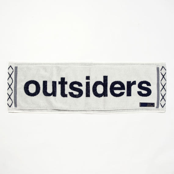Loop Towel/OFFWHITE x NAVY