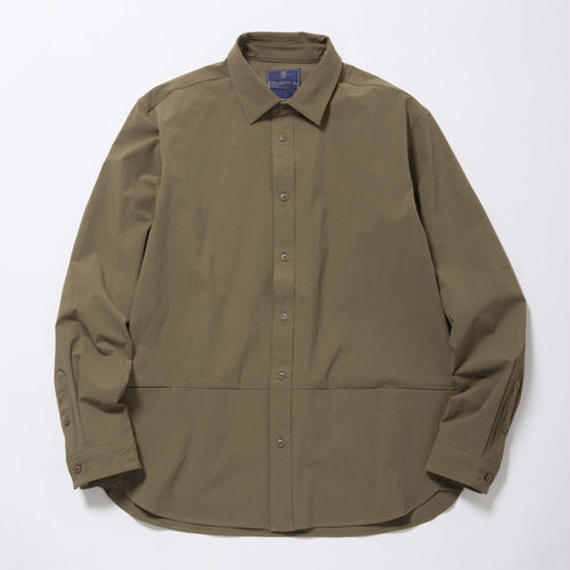 Packable All-Way Stretch Shirt/FOREST