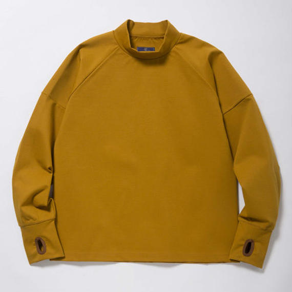 Double Jersey High-Necked/OCHER
