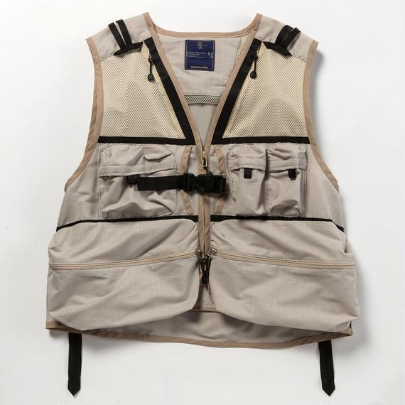 Dry Mesh Luggage Vest/BEIGE