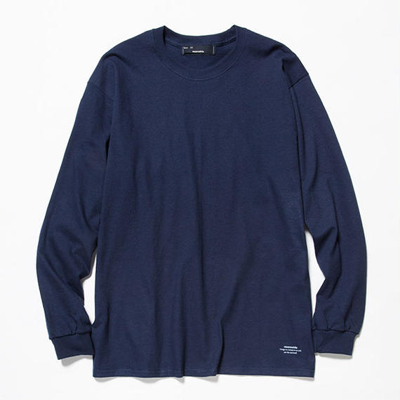 Anti-Stain 2 Pack L/S Tee/NAVY x GREEN