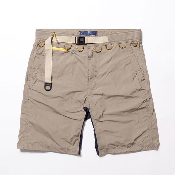 Memory Peach Waving Cord Board Shorts/BEIGE