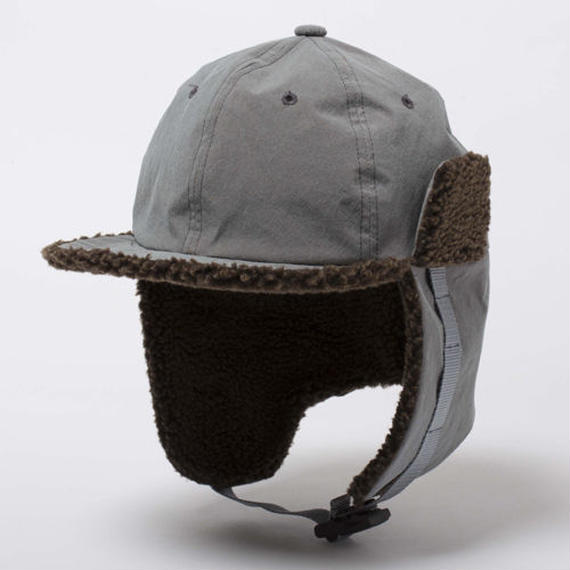Konbu Nylon Flight Cap/FOSSIL GREY