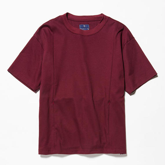 GIZA Cotton Sack Tee/WINE