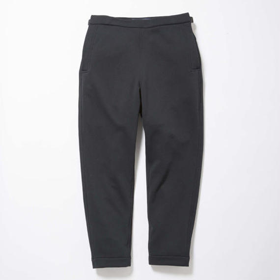 Double Fleece Sailor Pants/MIDNIGHT