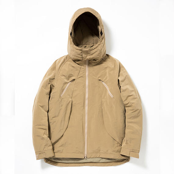 Memory Peach/Outlast Cycling Hooded JK/BEIGE