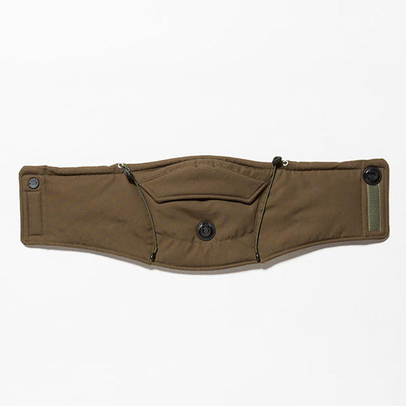 Ventile Adjust Neck Warmer/KHAKI [MW-AC18210]