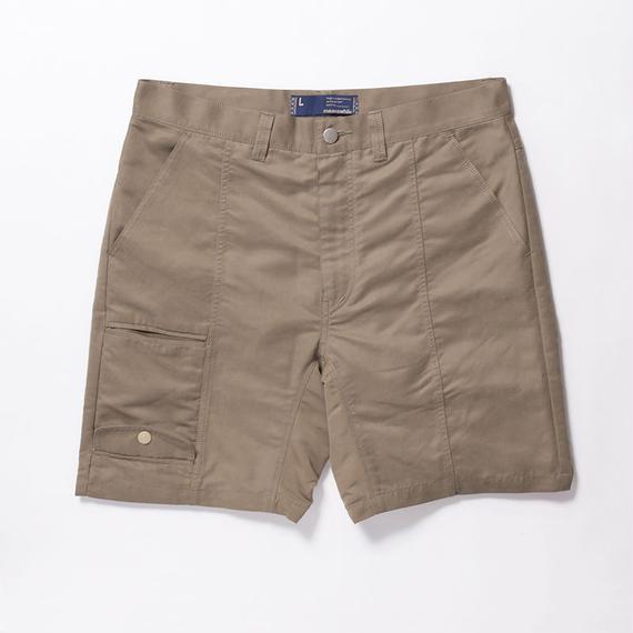 Peach OX Upside down Flap Sack Shorts/BEIGE