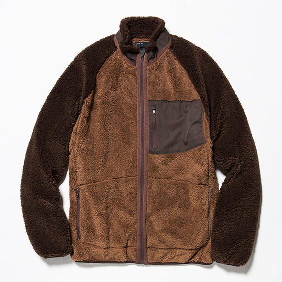 Behavior Fleece Jacket/BROWN [MW-CT18203]