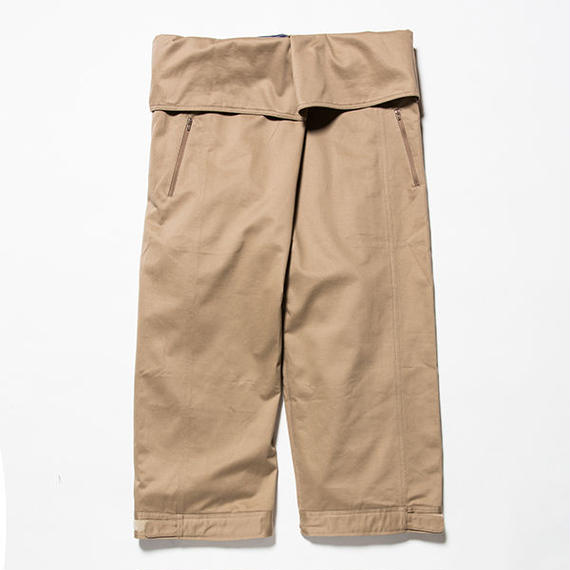 Cotton Chino Wrap Pant/SAND BEIGE [MW-PT18201]