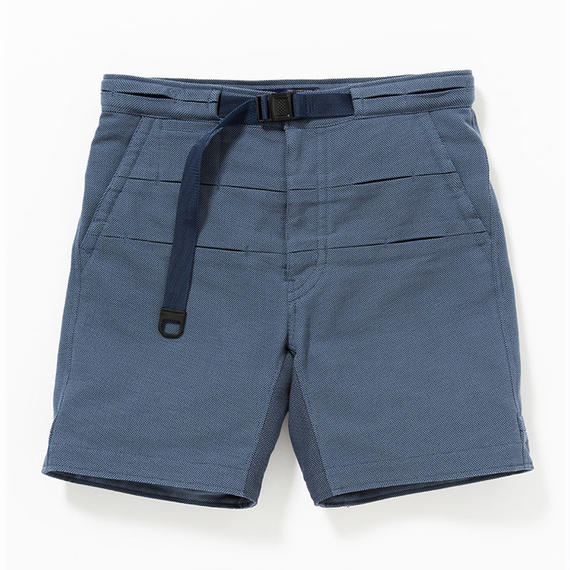 Cotton Birds Eye Waving Cord Board Shorts/NAVY