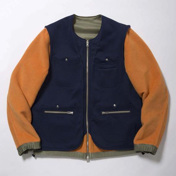 Double Fleece Reversible 4-Way Jacket/ MILxEMG