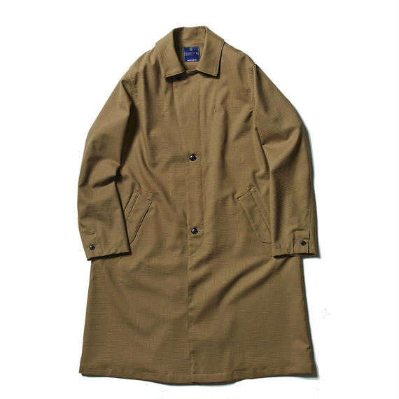 Dress Rip Travel Long Coat/KHAKI
