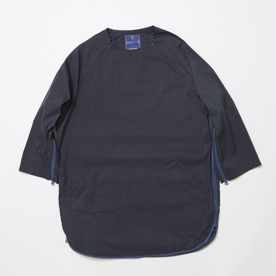 Typewriter Stretch Coolmax Loop Zip SH/NAVY