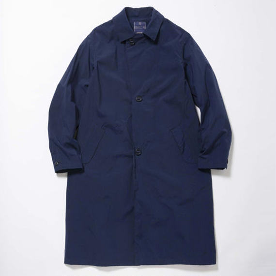 Konbu Nylon Over Coat/ VINTAGE NAVY