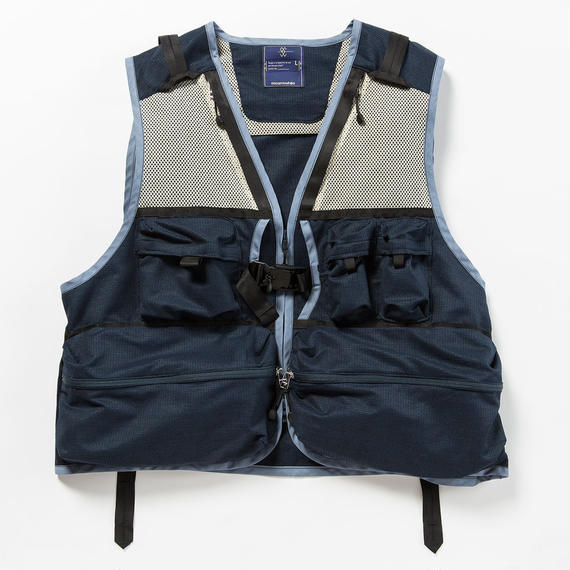 Dry Mesh Luggage Vest/NAVY