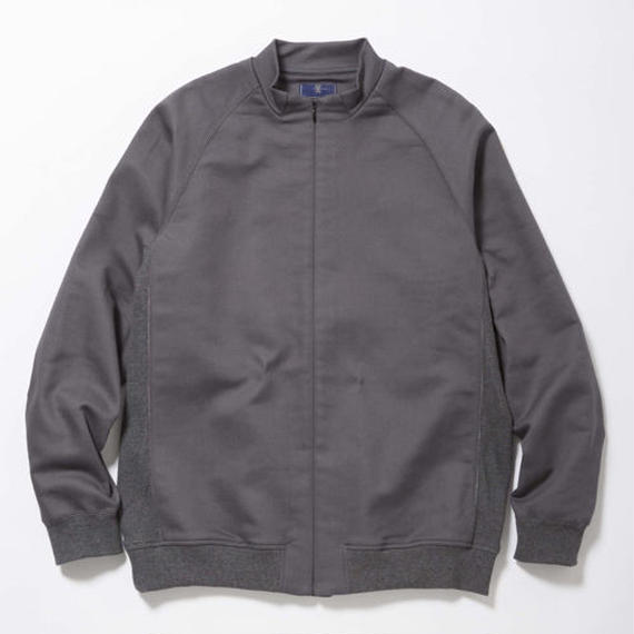 Woven Stretch Zip Sweat/COAL