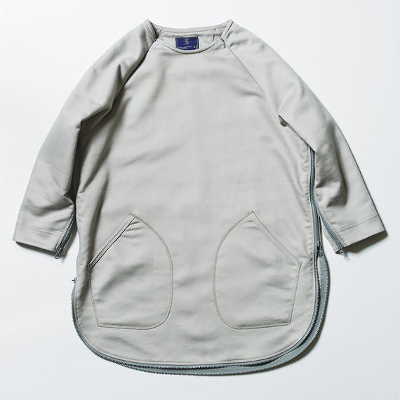 Loop Zip Sweatshirt/GREY