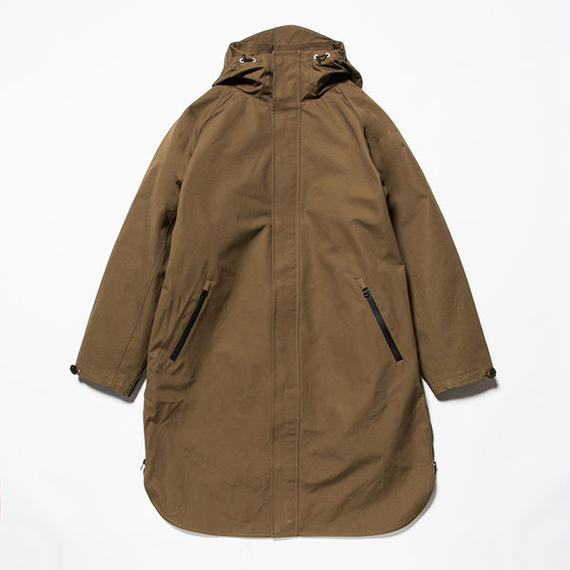 3 Layer Ventile Poncho Coat/KHAKI [MW-JKT18204]