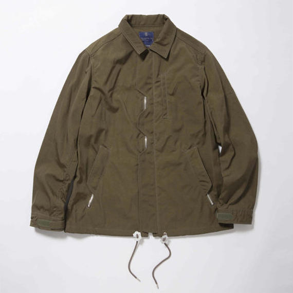 Blackboard Cloth Odd Job Flap Coach Jacket/ FOREST