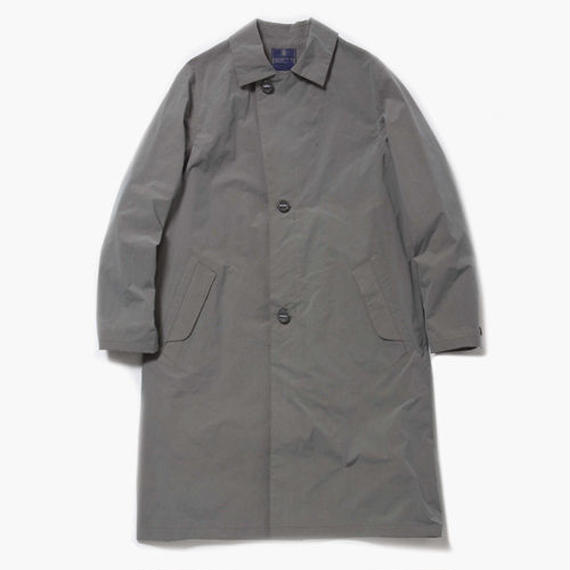 Konbu Nylon Over Coat/ FOSSIL GREY