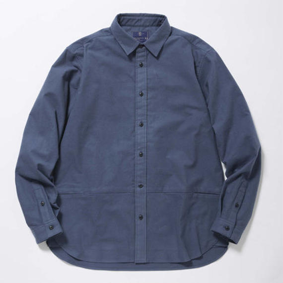Packable Flannel Shirt/HARBOUR BLUE