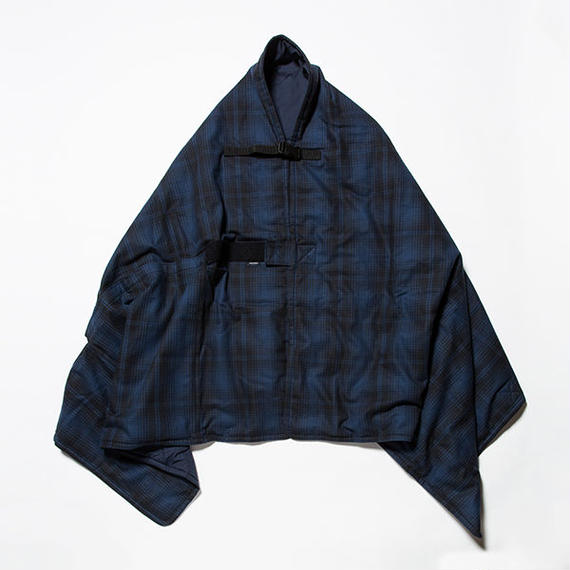 "Flannel Check ""Traveling Rug""/BLUE [MW-AC18209]"